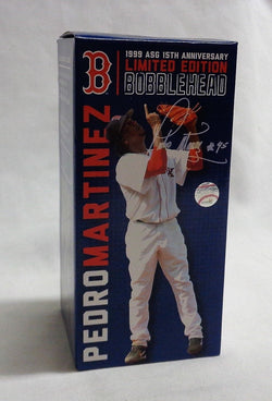 Boston Red Sox HOF Pedro Martinez 1999 Allstar Bobblehead Doll Statue Figure