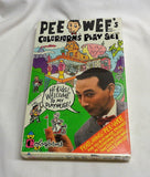 1987 Colorforms Set Pee Wee Herman Playhouse Paul Reubens Sealed Boxed FREESHIP