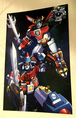 1984 Style Voltron Lions Vehicle Force Cars Team Poster Picture 11x17 FREESHIP