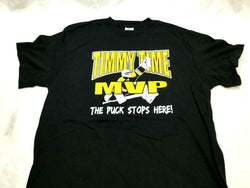 Boston Player Tim Thomas Theme T Shirt Size Medium Bruins NHL Hall of Fame