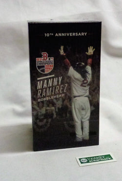 2017 Boston Red Sox Manny Ramirez Bobblehead 2007 World Series Champions