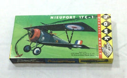 1958 Vintage WWI Nieuport 17C-1 Hawk Model Kit Plastic NEW 1:72 Scale