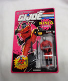 RARE 1991 Vintage GI Joe ARAH Ninja Force Slice Figure MOC Carded Sealed MOSC