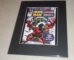 1966 Tales Of Suspense #85 Marvel Captain America Ironman 16x20 Poster Picture