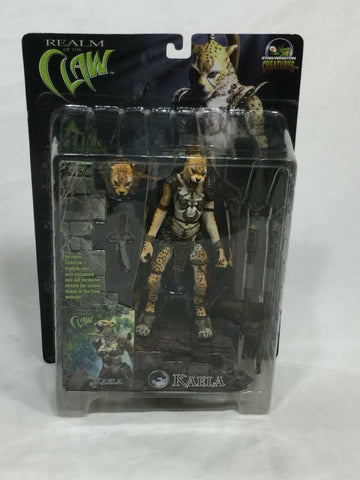 2001 Stan Winston Creatures Realm of the Claw Kaela Figure MOC Sealed FREESHIP