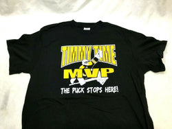 Boston Player Tim Thomas Theme T Shirt Size Small Bruins NHL Hall of Fame