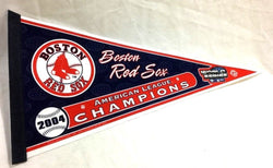 2004 World Series American League Champions Pennant Boston Red Sox FREESHIP
