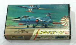 Airfix Vintage US Airforce F104 StarFighter Model Kit Plastic NEW 1:72 Scale