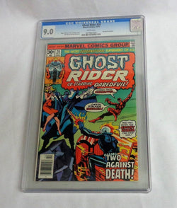 Ghost Rider #20 CGC 9.0 VF/NM Daredevil Appearance Gil Kane Cover