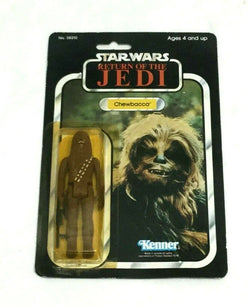 1983 Star Wars Return of Jedi ROTJ Chewbacca Figure Carded Sealed MOC 77 Back