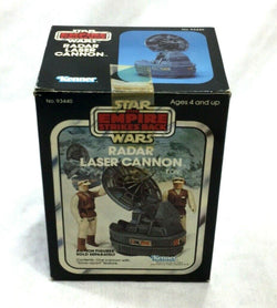 1980 Star Wars ESB Empire Strikes Back Radar Laser Cannon Sealed MIB Boxed
