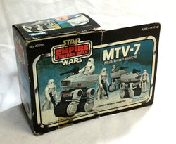1981 Star Wars ESB Empire Strikes Back MTV-7 Mini Rig Boxed Complete Insert