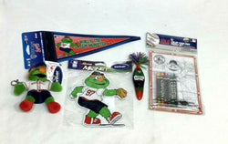 Boston Red Sox Mascot Wally the Green Monster Magnet Pen Pennant Puzzle Lot