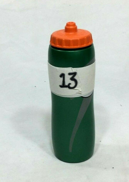 Boston Celtics Marcus Morris Gatorade Bottle Game Used #13 Bench Locker Room