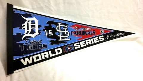 2006 World Series Duel Pennant St Louis Cardinals Detroit Tigers FREESHIP