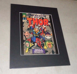 1962 Marvel Comics Thor Journey Into Mystery #123 Matted Picture Poster 16x20