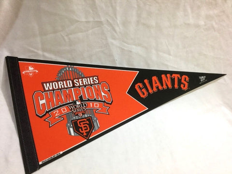 2010 World Series Champions San Francisco Giants Pennant (A) FREESHIP