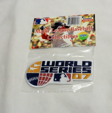 Official Boston Red Sox Colorado Rockies 2007 World Series Jersey Patch FREESHIP