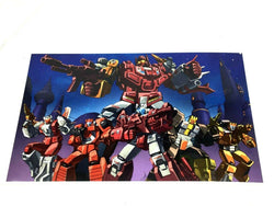 G1 Transformers Autobots Technobots Computron Team Poster Picture 11x17 FREESHP