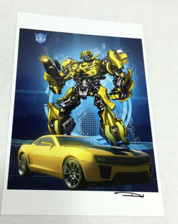 Transformers Autobot Bumblebee Movie Character Poster Picture 11x17 FREESHIP