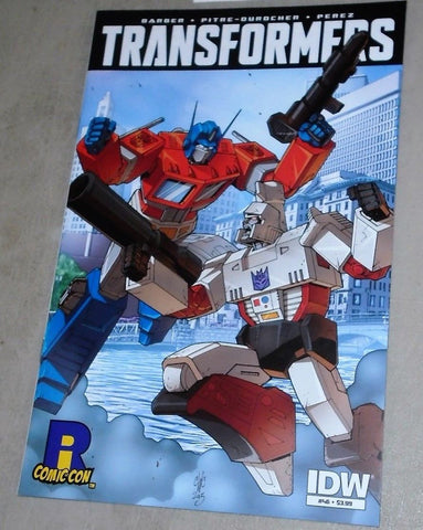 2015 Rhode Island ComicCon IDW Exclusive Transformers Comic Limited Edition RARE