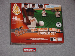 MLB Series 2 OYO Baltimore Orioles Starter Set Infield 3 Figure Lot Field FREESP
