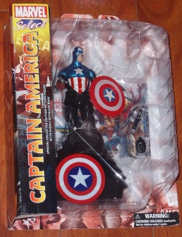 2012 Marvel Select Captain America 7 Inch Figure MOC Carded Sealed FREESHIP