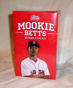 Boston Red Sox Mookie Betts Bobblehead Doll Statue Figure 2016 Fenway FREESHP