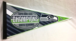 2014 Superbowl 48 World Champions Seattle Seahawks Pennant (A1) FREESHIP