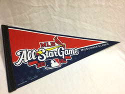 2009 MLB Allstar Game Pennant St Louis Cardinals Busch Stadium (W) FREESHIP
