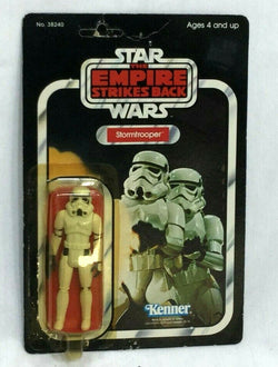 1981 Star Wars ESB Empire Strikes Stormtrooper Figure 48 Back MOC Sealed Carded