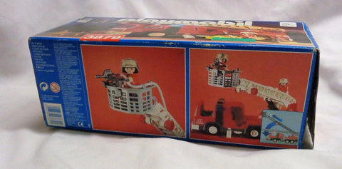 1996 Playmobil 3879 Fire Truck Ladder Unit 52 Import Germany Boxed Sealed Bags
