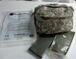 US Army ACU Camo CLS Bag First Aid Trauma Kit Tourniquet Combat Medic Complete