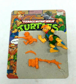 1989 Teenange Mutant Ninja Turtles TMNT Walkabout Figure Complete with Cardback