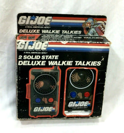 1986 Vintage Hasbro GI Joe ARAH 2 Solid State Walkie Talkie Radios Boxed New
