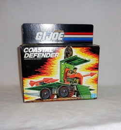 RARE-1987-Vintage-GI-Joe-ARAH-Coastal-Defender-Sealed-Boxed-Mint-FREESHIP