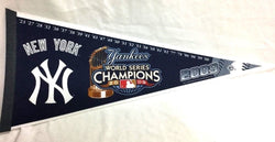 MLB 2009 World Series Champions New York Yankees Pennant FREESHIP Jeter Arod
