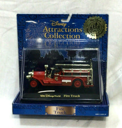 NEW Disney Attractions Collection Fire Engine Theme Park Series Boxed FREESHP