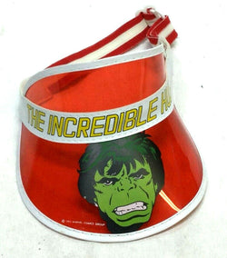 1982 Vintage Marvel Comics Incredible Hulk Kids Childrens Visor New RARE Find