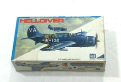 MPC Vintage WWII US Navy Helldiver Model Kit 1:72 Scale NEW Boxed FREESHIP