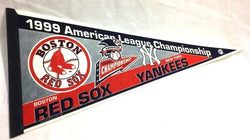 1999 ALCS League Championship Series Pennant Boston Red Sox New York Yankees