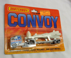 1983 Vintage Matchbox Convoy Kenworth Nasa Rocket Transporter Carded MOC Sealed