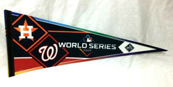2019 World Series Duel Pennant Houston Astros Washington Nationals (W) FREESHIP