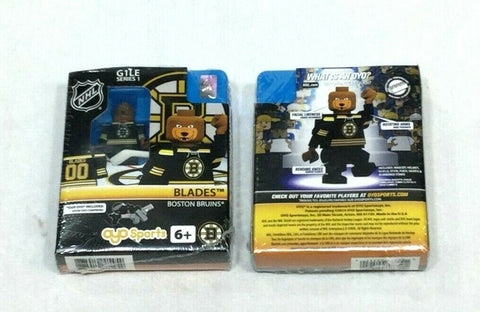 OYO Sports NHL Boston Bruins Blades Bear Mascot Figure Gen 1 Series 1 FREESHIP