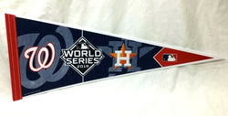 2019 World Series Duel Pennant Houston Astros Washington Nationals (R) FREESHIP