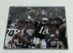 Super Bowl 38 New England Patriots Tom Brady Throwing Pass Picture Photo 8x10