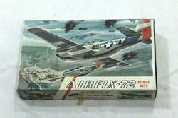 Airfix Vintage WWII US Army P51D Fighter plane Model Kit Plastic NEW 1:72 Scale