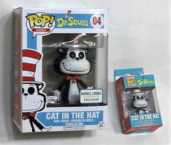 Funko POP & Mini Dr. Seuss Cat In The Hat #04 Barnes & Noble Exclusive Lot