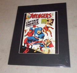 1964 Marvel Comics Avengers #4 Appearance Captain America 16x20 Poster Picture