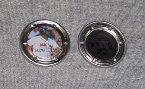 2016 Boston Red Sox David Ortiz Big Papi Coin Hub Snap Limited FREESHIP